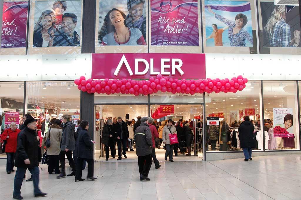 Adler Modemarkt – ein Karlsruher Textilhaus auf dem Weg in